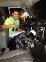 Samson arrives in Denver
