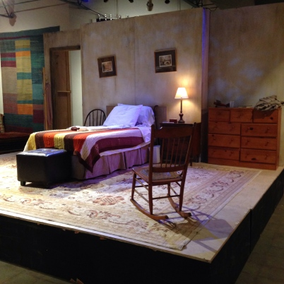 "The Set of ""Vigil"" at Cherry Creek Theatre, Oct. 2013"