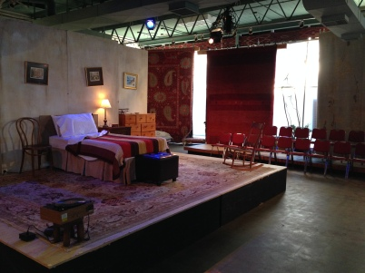 "Carpet Gallery Becomes the Set of ""Vigil"""